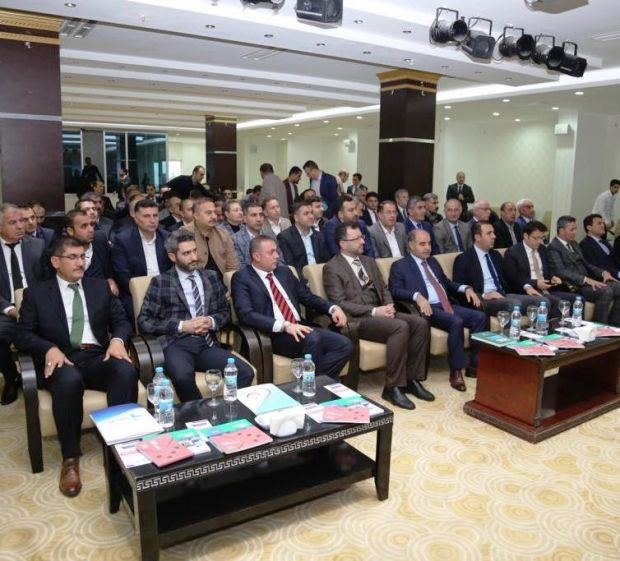 ŞIRNAK'TA DÜZENLENEN EKONOMİ İŞBİRLİĞİ TOPLANTISINA KATILDIK