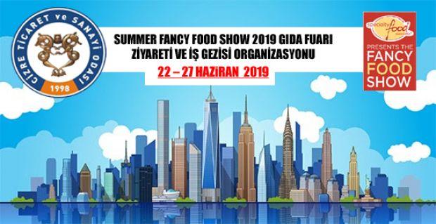 SUMMER FANCY FOOD SHOW 2019 GIDA FUARI ZİYARETİ VE İŞ GEZİSİ ORGANİZASYONU