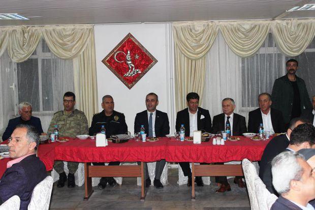 Cizre Kaymakamımız Sayın Ahmet Adanur`un katılımı ile Sivil Toplum Kuruluşları istişare toplantısı yapıldı.